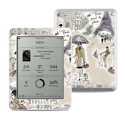 Kobo Mini Skin - Ah Paris