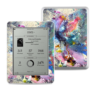 Kobo Mini Skin - Cosmic Flower