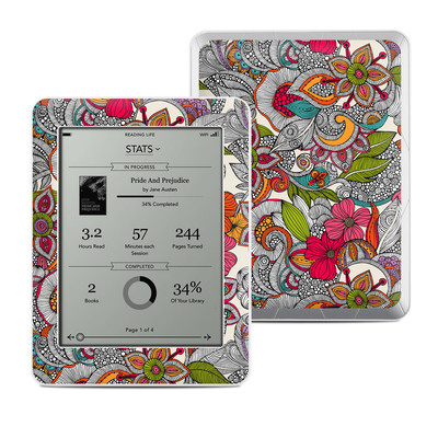 Kobo Mini Skin - Doodles Color