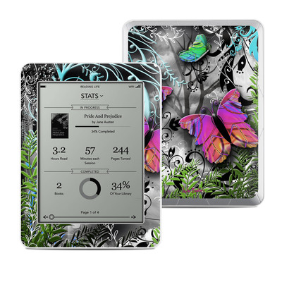 Kobo Mini Skin - Goth Forest