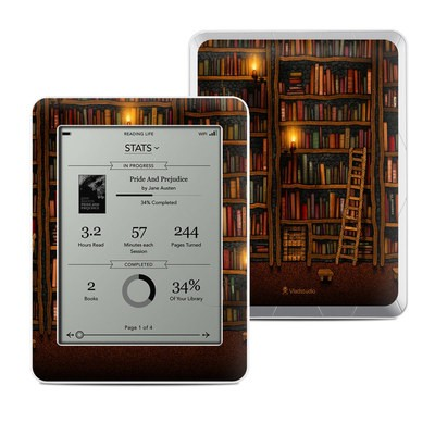 Kobo Mini Skin - Library
