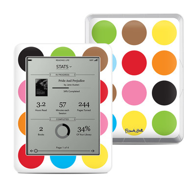 Kobo Mini Skin - Multidot