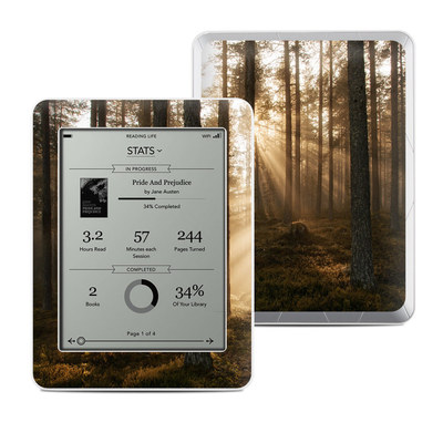 Kobo Mini Skin - Misty Trail
