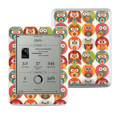 Kobo Mini Skin - Owls Family