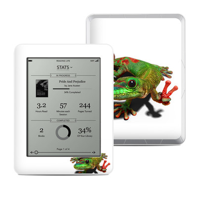 Kobo Mini Skin - Peace Gecko