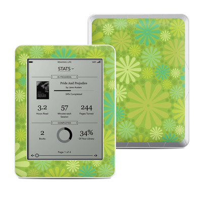 Kobo Mini Skin - Lime Punch