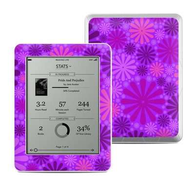 Kobo Mini Skin - Purple Punch