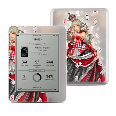 Kobo Mini Skin - Queen Of Cards