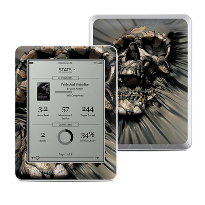 Kobo Mini Skin - Skull Wrap