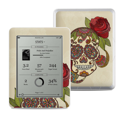 Kobo Mini Skin - Sugar Skull