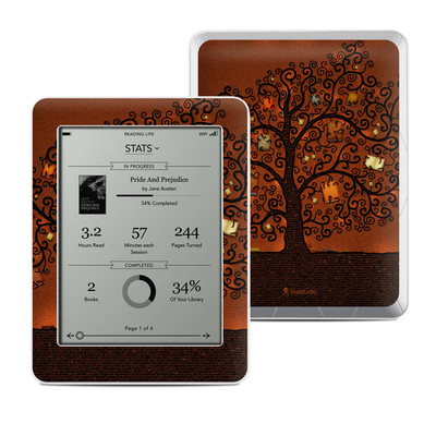 Kobo Mini Skin - Tree Of Books
