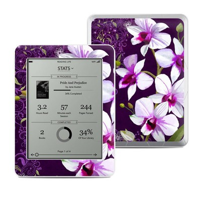 Kobo Mini Skin - Violet Worlds