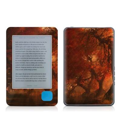 Kobo eReader Skin - Canopy Creek Autumn