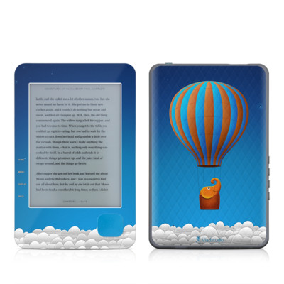 Kobo eReader Skin - Flying Elephant