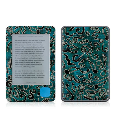 Kobo eReader Skin - Music Notes