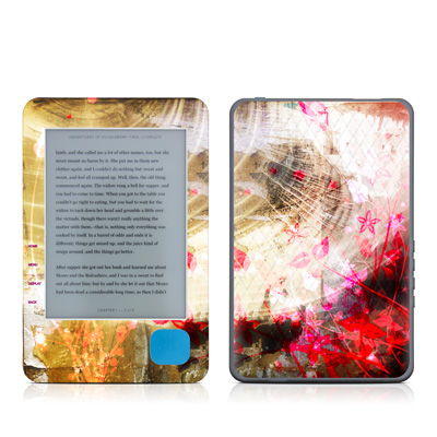 Kobo eReader Skin - Woodflower