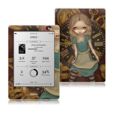 Kobo Touch Skin - Alice Clockwork