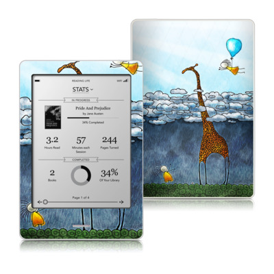 Kobo Touch Skin - Above The Clouds