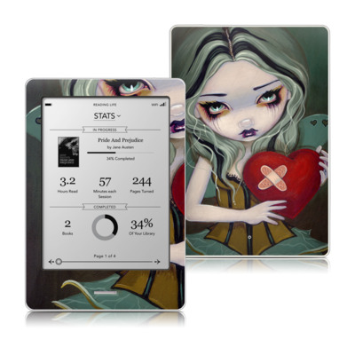 Kobo Touch Skin - Broken Heart