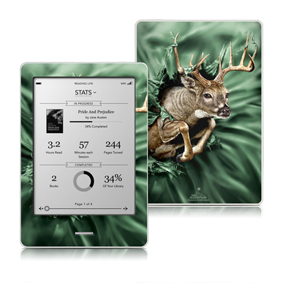 Kobo Touch Skin - Break Through Deer