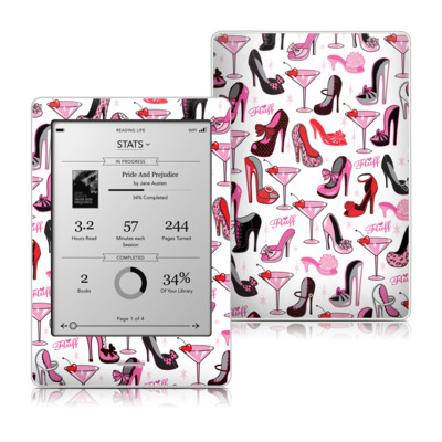 Kobo Touch Skin - Burly Q Shoes