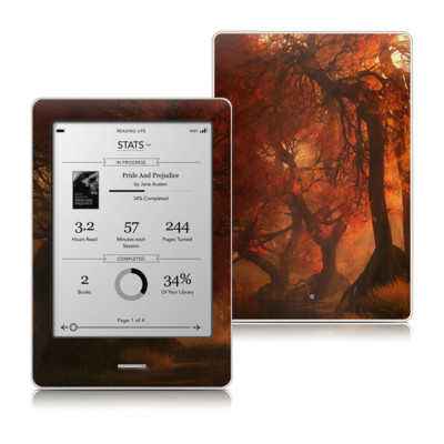 Kobo Touch Skin - Canopy Creek Autumn