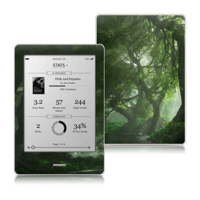 Kobo Touch Skin - Canopy Creek Spring
