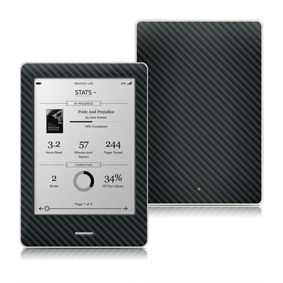 Kobo Touch Skin - Carbon