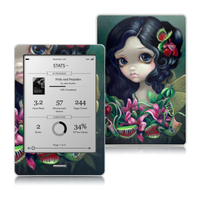 Kobo Touch Skin - Carnivorous Bouquet