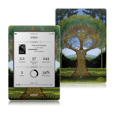 Kobo Touch Skin - Celtic Tree