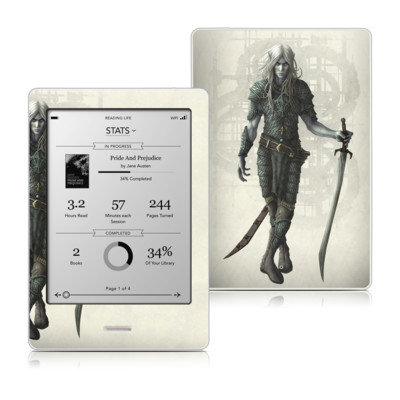 Kobo Touch Skin - Dark Elf