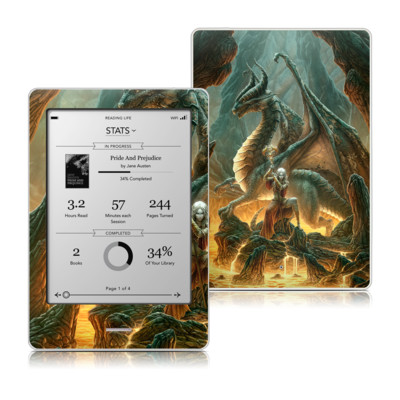 Kobo Touch Skin - Dragon Mage