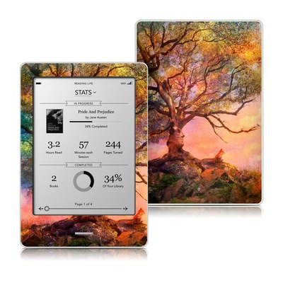 Kobo Touch Skin - Fox Sunset