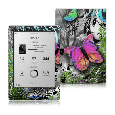 Kobo Touch Skin - Goth Forest