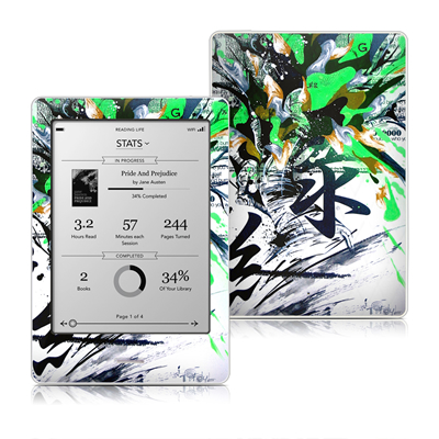 Kobo Touch Skin - Green 1
