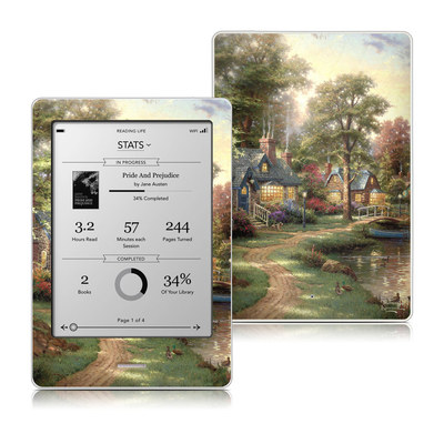 Kobo Touch Skin - Hometown Lake