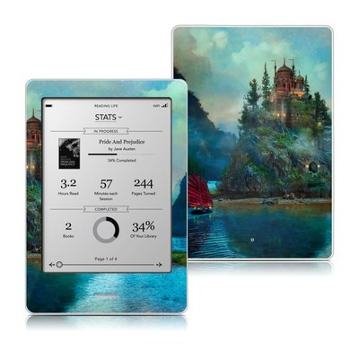 Kobo Touch Skin - Journey's End