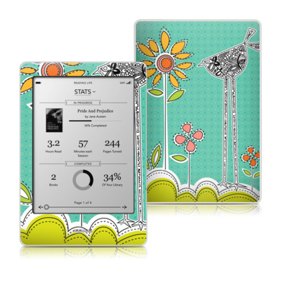 Kobo Touch Skin - Little Chicken