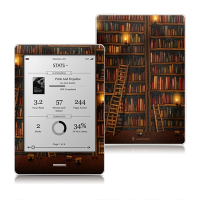 Kobo Touch Skin - Library