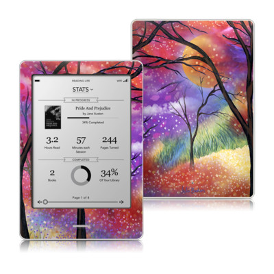 Kobo Touch Skin - Moon Meadow