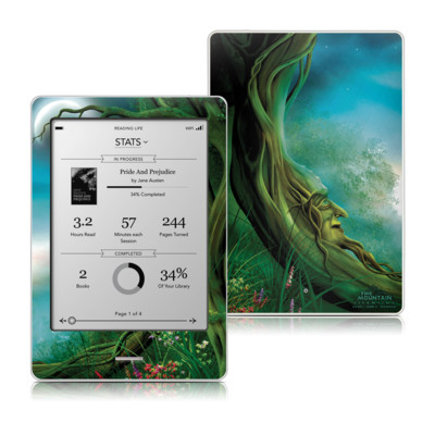 Kobo Touch Skin - Moon Tree