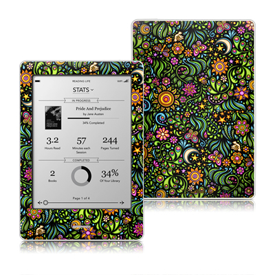 Kobo Touch Skin - Nature Ditzy