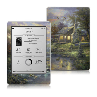 Kobo Touch Skin - Natures Paradise