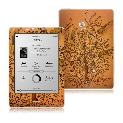 Kobo Touch Skin - Orchestra
