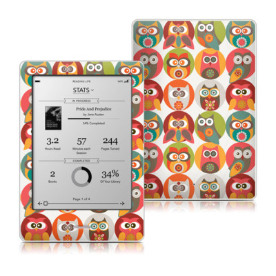 Kobo Touch Skin - Owls Family