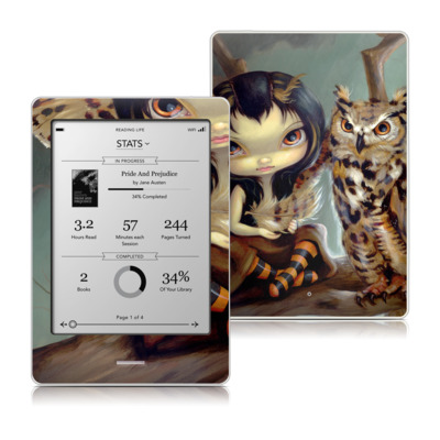 Kobo Touch Skin - Owlyn