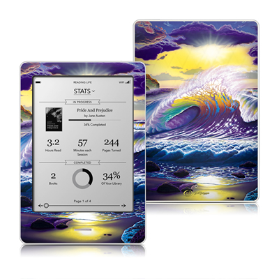 Kobo Touch Skin - Passion Fin