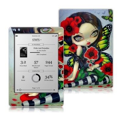 Kobo Touch Skin - Poppy Magic