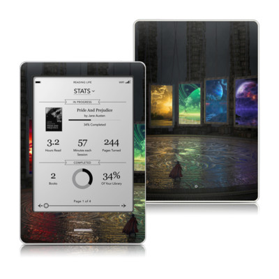 Kobo Touch Skin - Portals