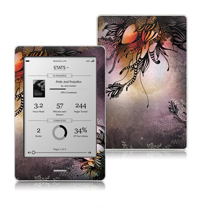 Kobo Touch Skin - Purple Rain